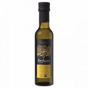 Fairtrade olive oil from Traidcraft