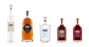 FAIR drinks fairtrade sustainably sourced vodka, rum, gin, coffee and goji liqueur